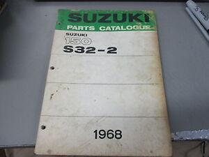 Suzuki 150 S32-2 used Service Manual
