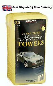 Kirkland 40cm Ultra Plush Soft Microfibre Car Polishing Household Cloth CLEANING