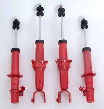 Full set 4 red Struts/Shocks plus bushings for 92-95 Honda Civic 94-01 Integra