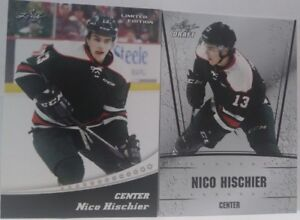 9762eefb7 Image is loading 2017-Nico-Hischier-LEAF-DRAFT-exclusive-limited-edition-