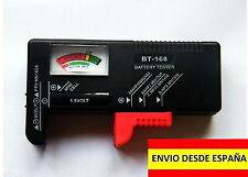 Comprobador de Pilas y Baterias tester baterias BT-168 *MANIPULACION Y ENVIO 24H