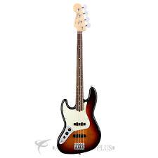 Fender American Pro JAZZ RW Left Hand 4-String Bass Guitar 3-Color Sunburst