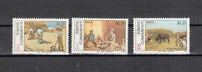 europa:6905 Seien Sie Im Design Neu Türkei Michelnummer 2485-2487 Kleinbogen Postfrisch