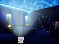Abco Tech Multicolor Ocean Wave Light Projector Night Light - 12 LED, MUSIC