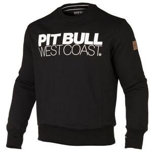 Sweatshirt Bluse Hoodie Bluza Pit Bull West Coast MMA KSW Logo Classic Black TNT