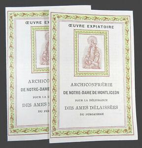 Archiconfrerie-Notre-Dame-de-Montligeon-Confraternity-Member-Booklets-1930s