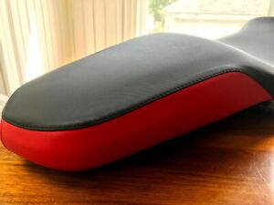 BMW two-tone seat (black/red) for F750GS / F850GS - OEM seat