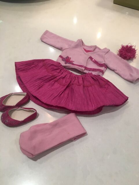 American Girl Doll Clothes - Pink Party Outfit