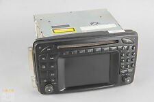 01-04 Mercedes W209 CLK55 AMG C230 Command Navigation Radio CD Display Screen