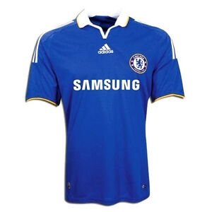 new style 426e9 355cf Details about ADIDAS CHELSEA FC HOME JERSEY 2008/09.
