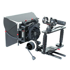 CAMTREE KIT-100 Fort Camera DSLR Cage for Video Camera w Matte Box Follow Focus