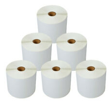 New Listing6 Rolls Of 500 Labels 4x6 Direct Shipping Postage Labels For Zebra Lp 2844 Gx420