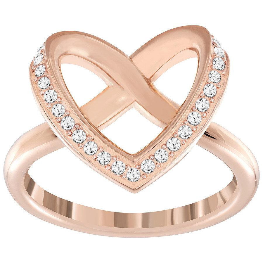 SWAROVSKI  pink gold Cupidon Ring BNIB SHIPS FAST