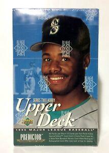 1995-Upper-Deck-series-2-Baseball-card-box-36-packs-factory-sealed