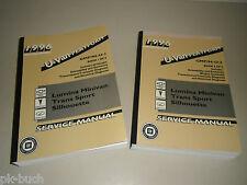 Werkstatthandbuch Service Manual 1996 GM U-Van Lumina Trans Sport Silhouette