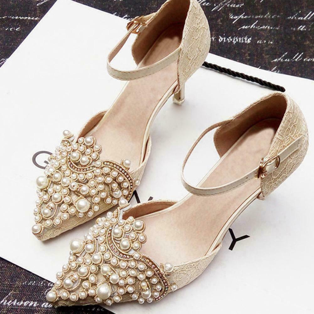 Flower Shoe Clip With Rhinestones Iron on Patch Badge Applique 2pcs Set UK