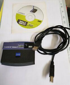 Adaptateur Réseaux Usb Linksys Wireless-g 2.4ghz / 802.11g Cisco Systems