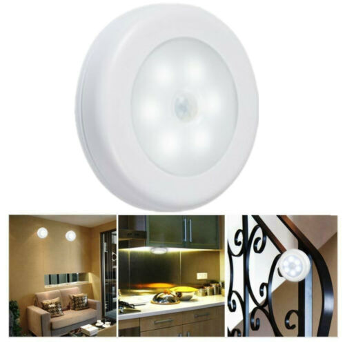 Motion Sensor Light Night Cordless LED Stairs Home Indoor Outdoor Home