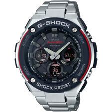 Casio G-Steel Men's GSTS100D-1A4 Tough Solar Super Illuminator 52.5mm Watch