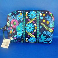 Vera Bradley - Large Cosmetic Bag - Midnight Blues