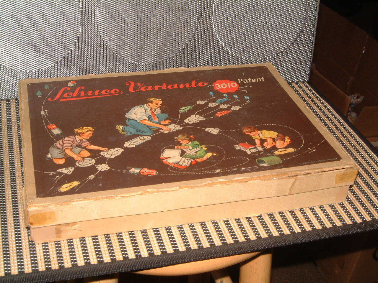SCHUCO VARIANTO, VINTAGE VINTAGE VINTAGE 1953 3010C SET  ALL PERFECTLY WORKING & W ORIGINAL BOX  f10dd9