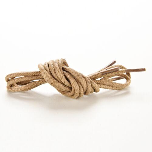 Wax Cotton Thin Round Shoe Laces 2.5mm 75//85//90cm Dress Wax Cord Laces Brogu S