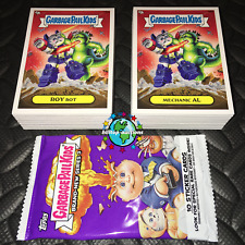 1986 Topps Series 5 GARBAGE PAIL KIDS Jumbo Pack Header Card Adam Bomb GPK