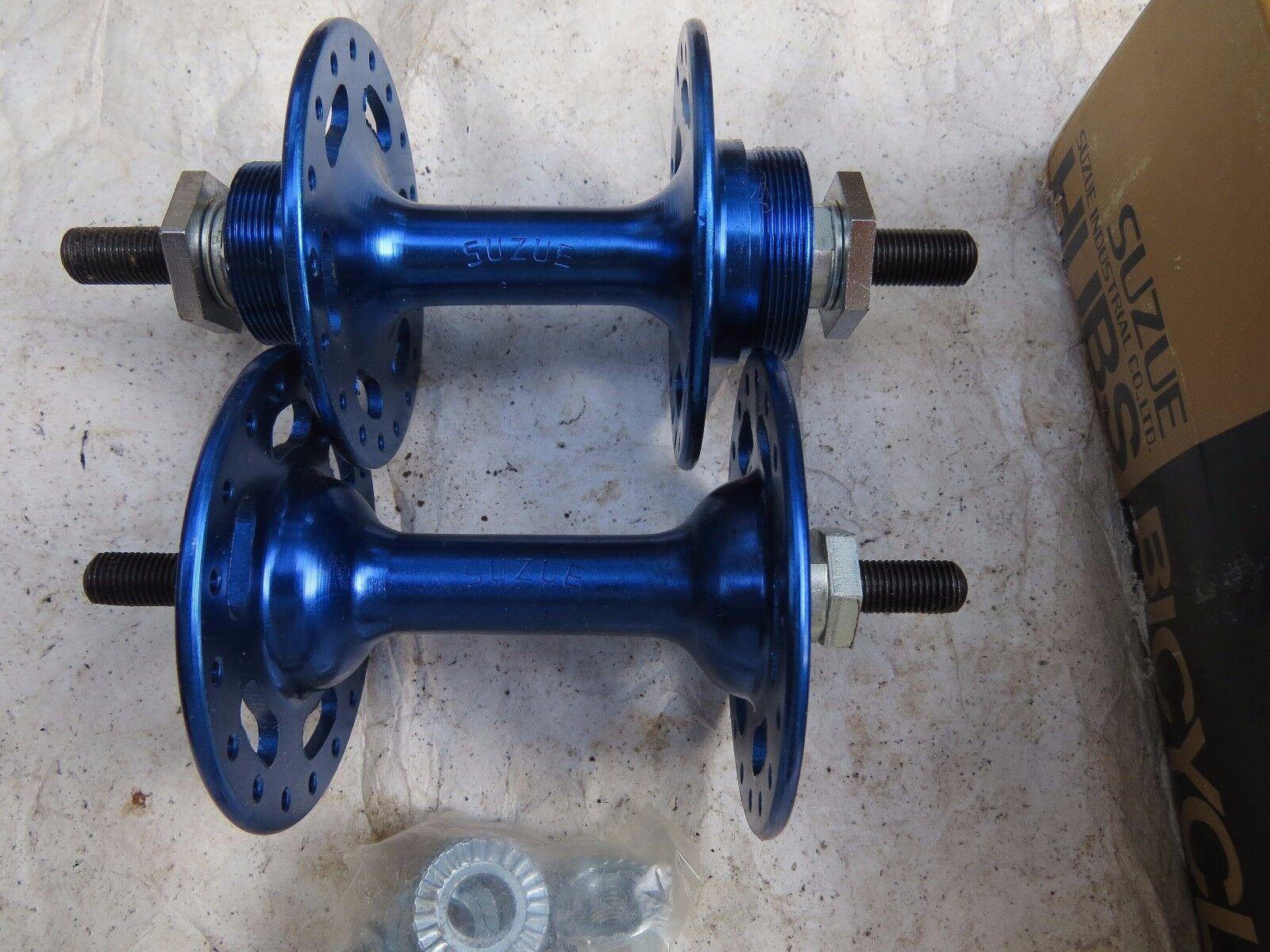 SUZUE HUBS NOS 36 HOLE BMX blueE CRUISER FREESTYLE BICYCLE VINTAGE