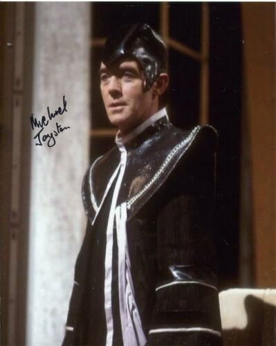 Dr Who Michael Jayston Photo Signed In Person F227