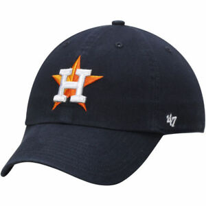 wholesale dealer f600e cb830 Image is loading Houston-Astros-47-Brand-Clean-Up-Hat-Adjustable-