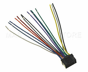 wire harness for alpine ute 42bt ute42bt pay today ships today ebay rh ebay com alpine wiring harness color code alpine to pioneer wiring harness