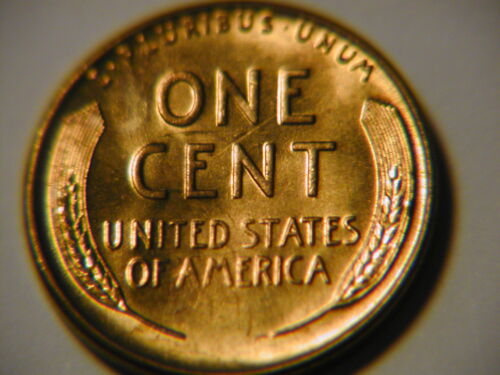 1940-s   red Lincoln BU   coin uncirculated cent