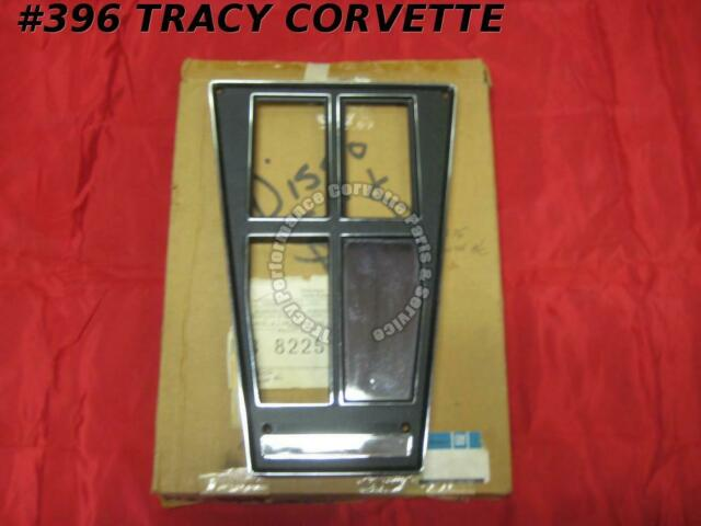 1972 1973 1974 Corvette Console Shift Plate Assembly Automatic with AC