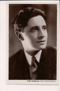 Vintage-Postcard-Ivor-Novello-Welsh-composer-amp-actor-popular-British-entertainer