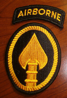 ARMY PATCH,SSI, U.S.SPECIAL OPERATIONS COMMAND, USSOCOM