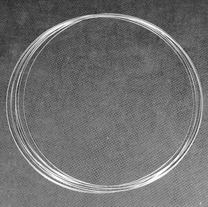 Modellbau Silberlotdraht 0,5mm X 5000mm 0,5mm L-ag55 Silberlot Hartlotdraht Fein Juwelier- & Uhrmacherbedarf