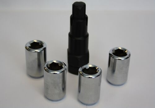 FORD FIESTA 03 /> Cerchi In Lega Per Dadi Di Bloccaggio M12 x 1.5 sintonizzatore interno SlimLine