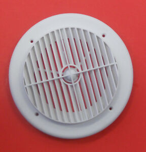 7 Quot Round Rv Ceiling A C Vent White New Ebay
