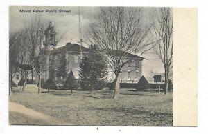 Wellington-County-MOUNT-FOREST-ONTARIO-Public-School-Circa-1907