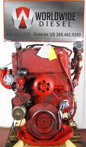 2005-Cummins-ISX-435ST-Diesel-Engine-Take-Out-435HP-Good-For-Rebuild-Only