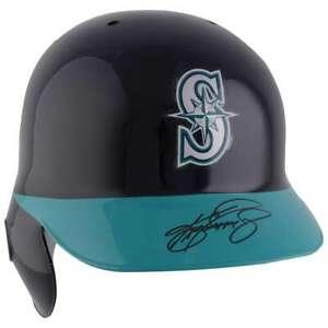 KEN GRIFFEY Jr. Autographed Seattle Mariners Full Size Batting Helmet FANATICS