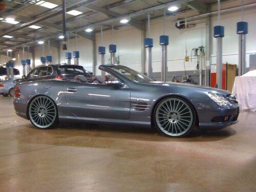 Mercedes SL R230 ABC Suspension Lowering Links Module Full Kit Shipped Free
