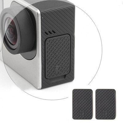2×Durable USB Side Door Cover Case Cap Replacement for Gopro Hero 4 3+ 3 HOT XC