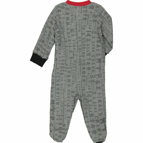NIKE AIR JORDAN Boy/'s Grey Marl Babygrow