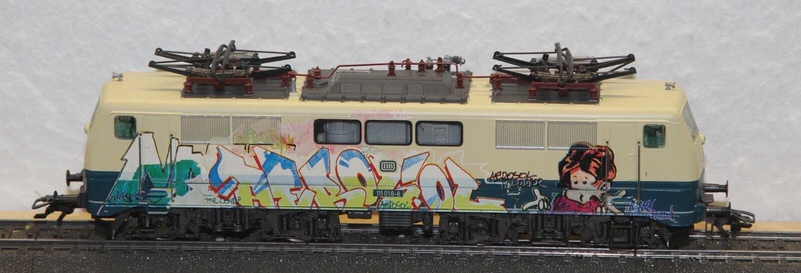 83342 E-Lok BR 111 018-8 Graffiti Edition DB, HLA decoder migliorata 6090