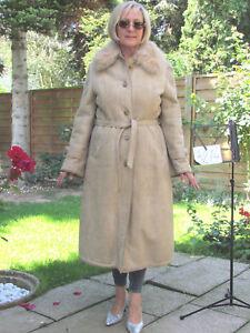 WOMENS-L-XL-Shearling-Lambskin-Sheepskin-Lamb-Coat-Jacket-Ladies-D3214
