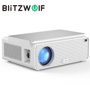 Blitzwolf Bw Vp2 6500 Lm 4k 1080p Hd Led Home Theater Projector Speaker Remote Ebay