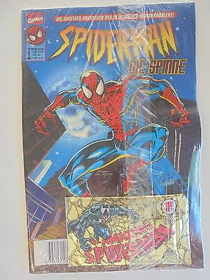 Spider Man Die Spinne Nr.1 mit Trading Cards OVP Marvel Comics Zustand 2