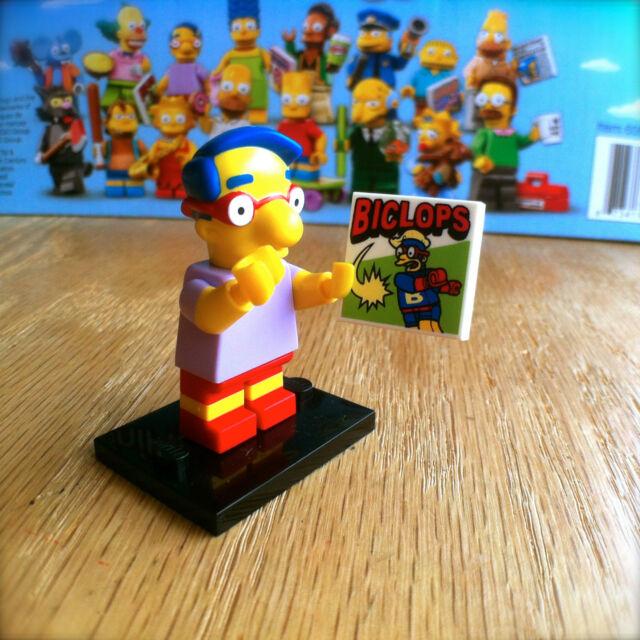 LEGO 71005 THE SIMPSONS Minifigures MILHOUSE #9 SEALED Minifigs Series 1 VANHout