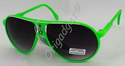 1299 Occhiali Da Sole Sunglasses Lenti Uv 400 Verde